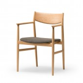 KAMUY Armchair (upholstered seat)