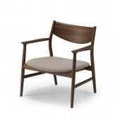 KAMUY Lounge Chair (wooden back)