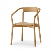 KORENTO Armchair (wood seat)