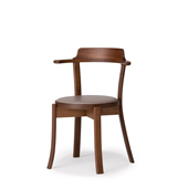 DARBY Chair (upholstered seat)