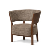 TOSAI Lounge Chair (upholstered back)