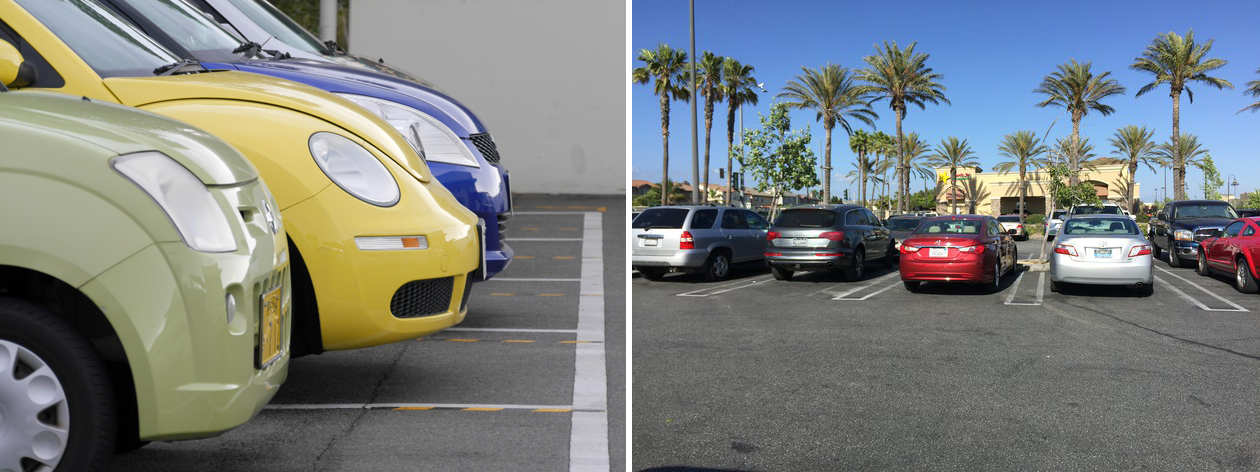 Forward parking vs backward parking