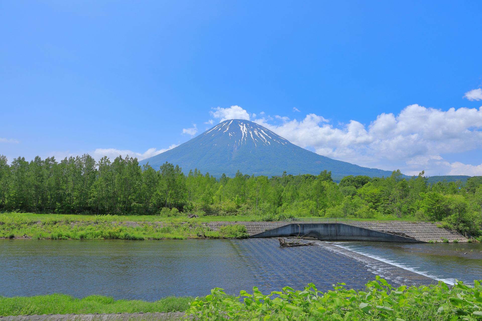 Mt. Fuji in Hokkaido